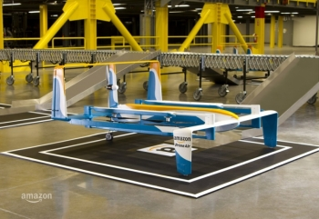 Джереми Кларксон показал прототип дрона Prime Air
