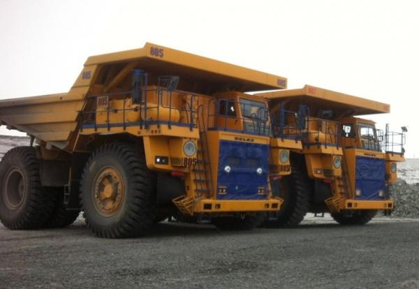 В Свердловской области на Качканарском ГОКе заработали новые 130-тонные БелАЗы