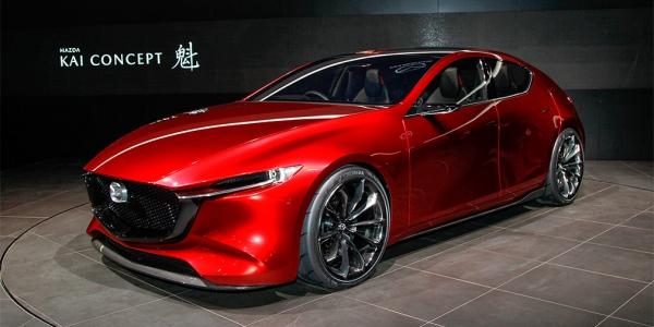 Mazda показала в Токио предвестника новой «тройки»