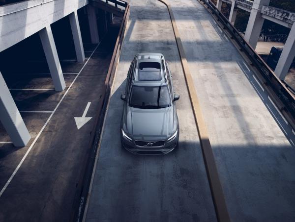 Volvo представила обновлённый внедорожник XC90