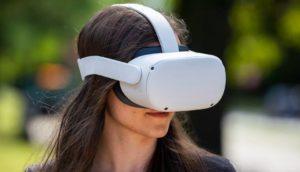 Набор для виртуальной реальности Oculus Quest 2