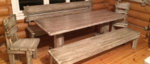 Преимущества мебели из массива дерева
